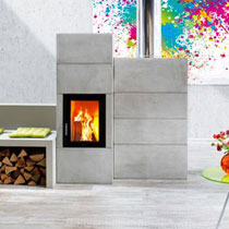 Kit Systems Tiled Stoves